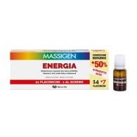 MASSIGEN ENERGIA 21 FLACONCINI DA 10 ML