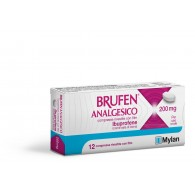 BRUFEN ANALGESICO COMPRESSE RIVESTITE CON FILM -  200 MG COMPRESSE RIVESTITE CON FILM 12 COMPRESSE IN BLISTER PVC/ACLAR/AL/VMCH