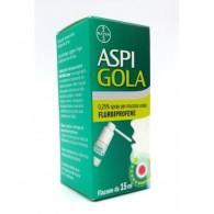 ASPI GOLA 0,25% Collutorio ASPI GOLA 0,25% Spray per mucosa orale -  0,25% SPRAY PER MUCOSA ORALE FLACONE DA 15 ML - 1