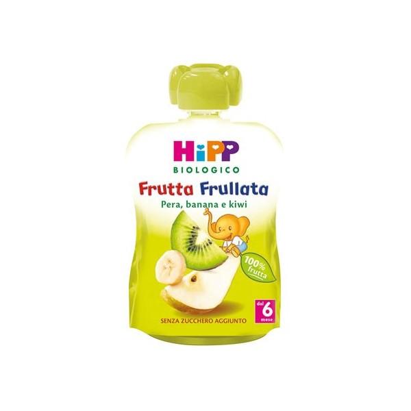 HIPP BIO HIPP BIO FRUTTA FRULLATA PERA BANANA KIWI 90 G