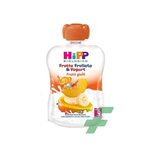 HIPP FRUTTA FRULLATA YOGURT FRUTTI GIALLI 90 G