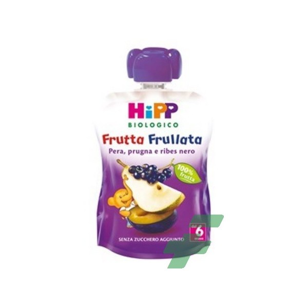 HIPP BIO HIPP BIO FRUTTA FRULLATA PERA PRUGNA RIBES 90 G