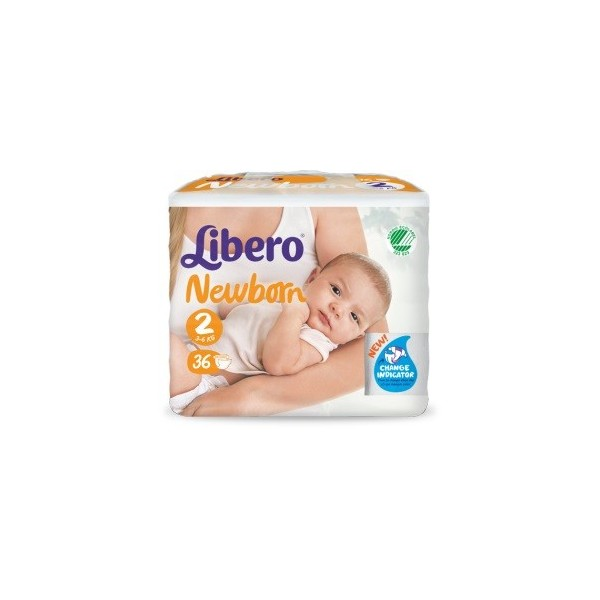 LIBERO NEWBORN PANNOLINO PER BAMBINO TAGLIA 2 6X36 PEZZI