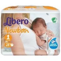 LIBERO NEWBORN PANNOLINO PER BAMBINO TAGLIA 1 4X28 PEZZI