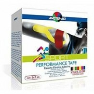 MASTER-AID S PERFORM BEIGE TAPING NEUROMUSCOLARE 5 CM X 5 MT - 1