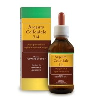 ARGENTO COLLOIDALE 314 100 ML FLOWERS OF LIFE