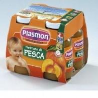 PLASMON NETTARE DI PESCA 4 X 125 ML