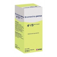 BROMEXINA PENSA 4 MG/5 ML SCIROPPO -  4 MG/5 ML SCIROPPO FLACONE DA 250 ML
