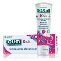 GUM KIDS DENTIFRICIO 2/6 FLUORO 500 PPM
