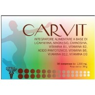 CARVIT 30 COMPRESSE DA 1300 MG