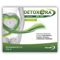DETOXERA PLUS INTEGRATORE ALIMENTARE PER STIPSI E TRANSITO INTESTINALE 30 COMPRESSE