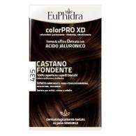 EUPHIDRA COLORPRO XD 435 CASTANO FONDENTE GEL COLORANTE CAPELLI IN FLACONE + ATTIVANTE + BALSAMO + GUANTI