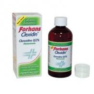 FORHANS COLLUTORIO CON CLOREXIDINA 0,12 CLEXIDIN SENZA ALCOOL 200 ML
