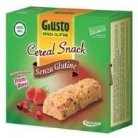 GIUSTO CEREAL SNACK FRUTTI ROSSI 150 G