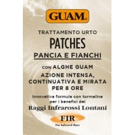 GUAM PATCHES TRATTAMENTO URTO PANCIA E FIANCHI 8 PEZZI