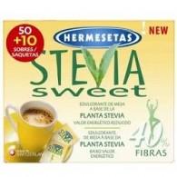 HERMESETAS STEVIA 50+10 BUSTINE