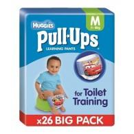 HUGGIES PULL UPS BOY M 11/18 KG PACCO DOPPIO 26 PEZZI