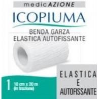 BENDA GARZA ELASTICA ICOPIUMA AUTOFISSANTE CM 10 X 20 MT