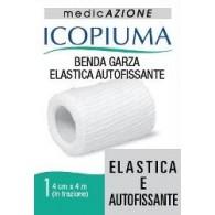 BENDA GARZA ELASTICA ICOPIUMA AUTOFISSANTE CM 4 X 4 MT
