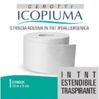 STRISCIA ADESIVA ICOPIUMA IN TESSUTO NON TESSUTO MT 10 X 5 CM 1 PEZZO