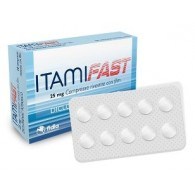 ITAMIFAST 25 MG COMPRESSE RIVESTITE CON FILM -  25 MG COMPRESSE RIVESTITE CON FILM 10 COMPRESSE IN BLISTER PA/PVC/AL