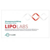 LIPOLABS 30 COMPRESSE 850 MG