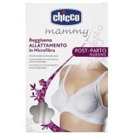 CHICCO MAMMY REGGISENO MICROFIBRA ALLATTAMENTO BIANCO 4C