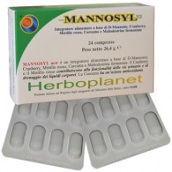 MANNOSYL NEW 24 COMPRESSE
