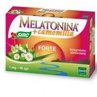 MELATONINA FORTE 10 COMPRESSE NUOVA FORMULAZIONE