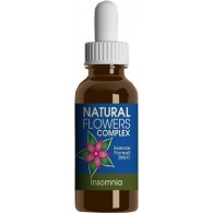 NATURAL FLOWERS COMPLEXS INSOMNIA FLACONE GOCCE 50 ML