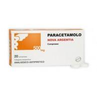 PARACETAMOLO NA 500 MG COMPRESSE -  500 MG COMPRESSE 20 COMPRESSE