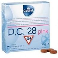 PC 28 PINK 20 TAVOLETTE