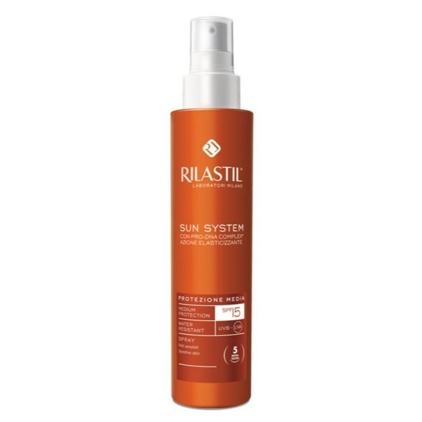 RILASTIL SUN SYSTEM PHOTO PROTECTION THERAPY SPF15 SPRAY VAPO 200 ML