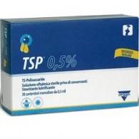 TSP 0,5% SOLUZIONE OFTALMICA UMETTANTE LUBRIFICANTE 30 FLACONCINI MONODOSE 0,5 ML