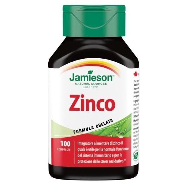 JAMIESON ZINCO 100 COMPRESSE