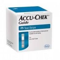 STRISCE MISURAZIONE GLICEMIA ACCU-CHEK GUIDE 50 STRIPS RETAIL 50 PEZZI - 1