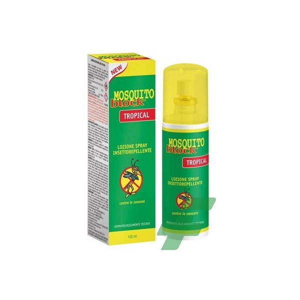 MOSQUITO BLOCK TROPICAL MD 100 ML