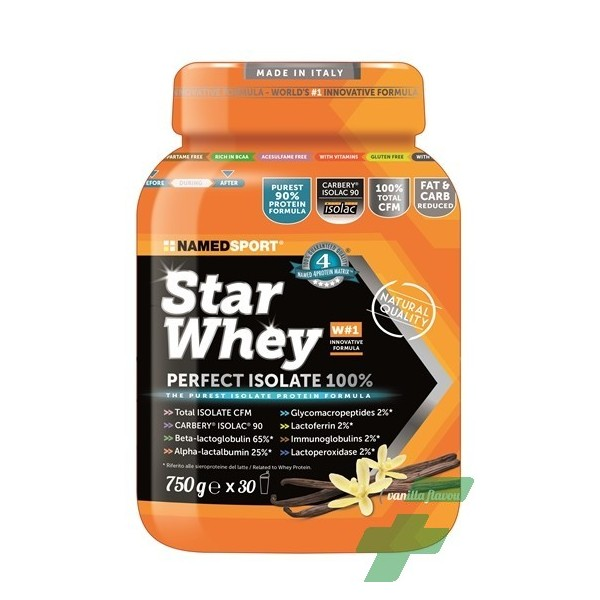 STAR WHEY ISOLATE VANILLA 750 G
