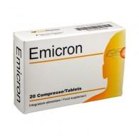 EMICRON 20 COMPRESSE - 1