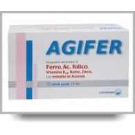 AGIFER 12 STICK 15 ML