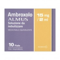 AMBROXOLO ALMUS -  15 MG/2 ML SOLUZIONE DA NEBULIZZARE 10 FIALE DA 15 ML