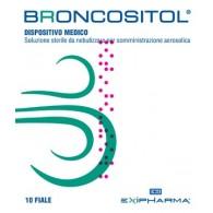 BRONCOSITOL SOLUZIONE STERILE DA NEBULIZZARE PER SOMMINISTRAZIONE AEROSOLICA 10 FIALE 3 ML