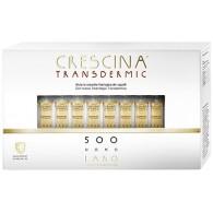 CRESCINA TRANSDERMIC RI-CRESCITA 500 UOMO 40 FIALE DA 3,5 ML