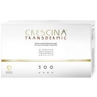 TRATTAMENTO COMPLETO CRESCINA TRANSDERMIC RI-CRESCITA 500 UOMO 10+10 FIALE DA 3,5 ML