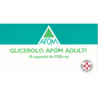 GLICEROLO AFOM SUPPOSTE - ADULTI 2,250 G SUPPOSTE 18 SUPPOSTE