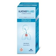 KATARFLUID 5 G/100 ML ADULTI SOLUZIONE ORALE -  5 G/100 ML ADULTI SOLUZIONE ORALE 1 FLACONE DA 200 ML