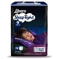 LIBERO SLEEPTIGHT TAGLIA 9 14 PEZZI