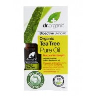 DR ORGANIC TEA TREE ESSENTIAL OIL OLIO ESSENZIALE 10 ML