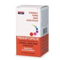 REINFORCE FERRO + VITAMINA C + RAME + ACIDO FOLICO