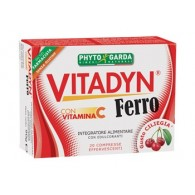 VITADYN FERRO + VITAMINA C 20 COMPRESSE EFFERVESCENTI